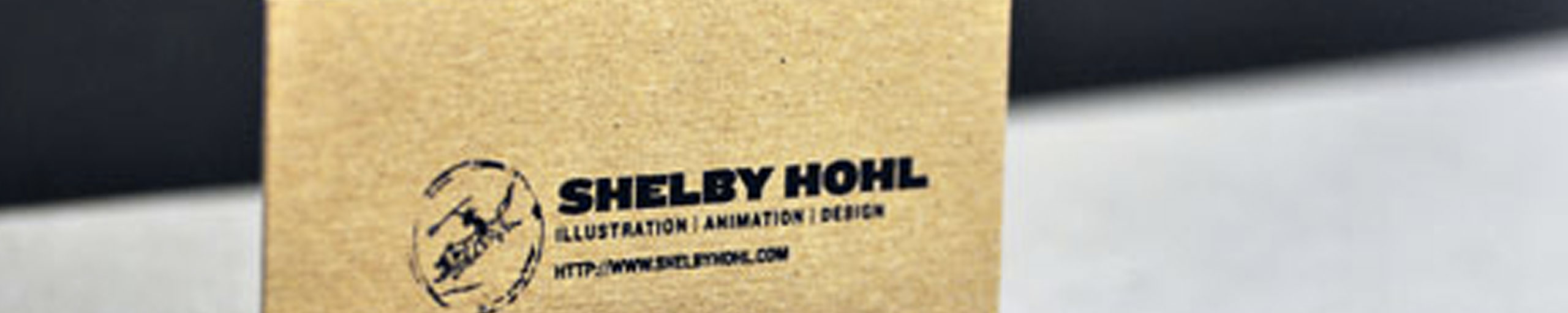 Screen Printed Business Cards on Chipboard