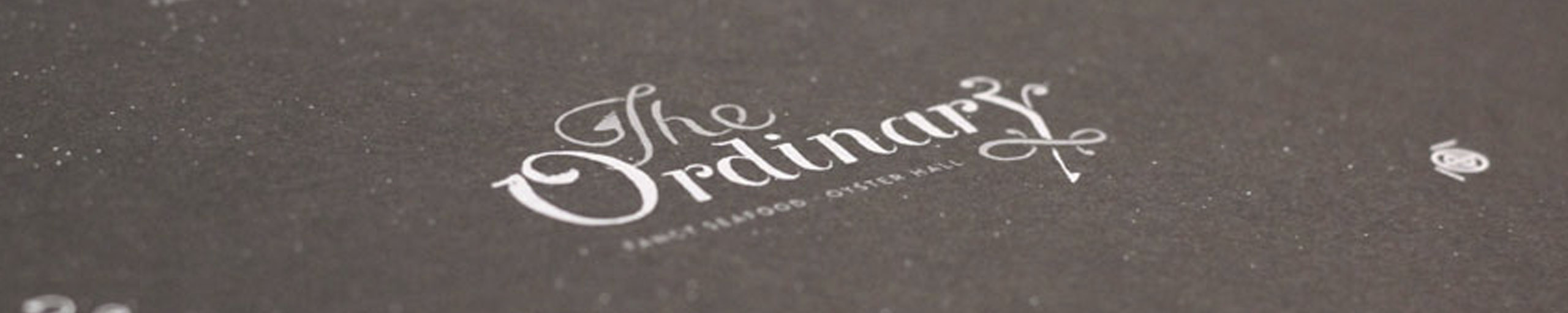 The Ordinary Business Cards by Fuzzco
