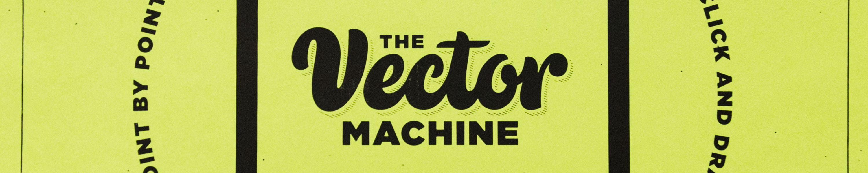 Intern Event: The Vector Macine with Bob Ewing