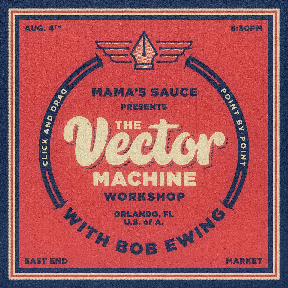 The Vector Machine Workshop w/ Bob Ewing