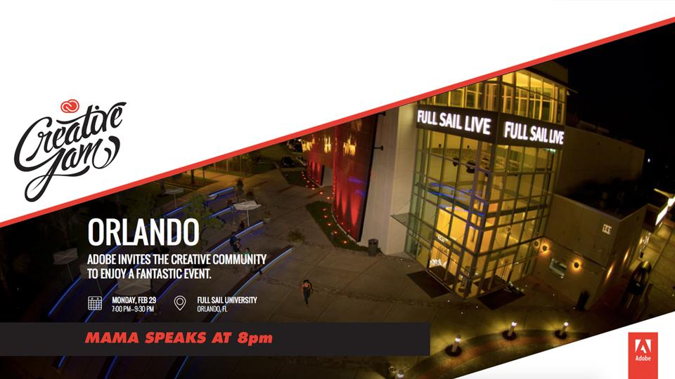 Adobe Creative Jam Orlando
