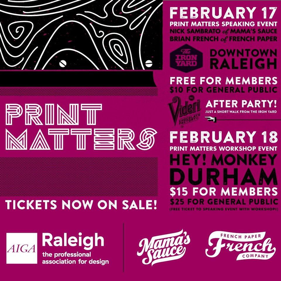 Print Matters Raleigh