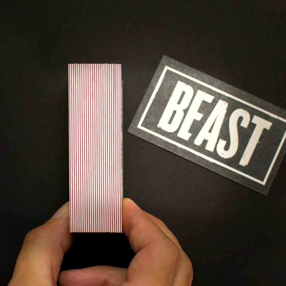 Beast Business Cards