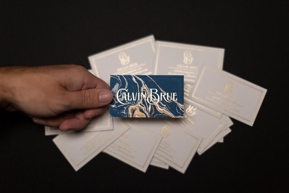 Calvin Brue Business Cards