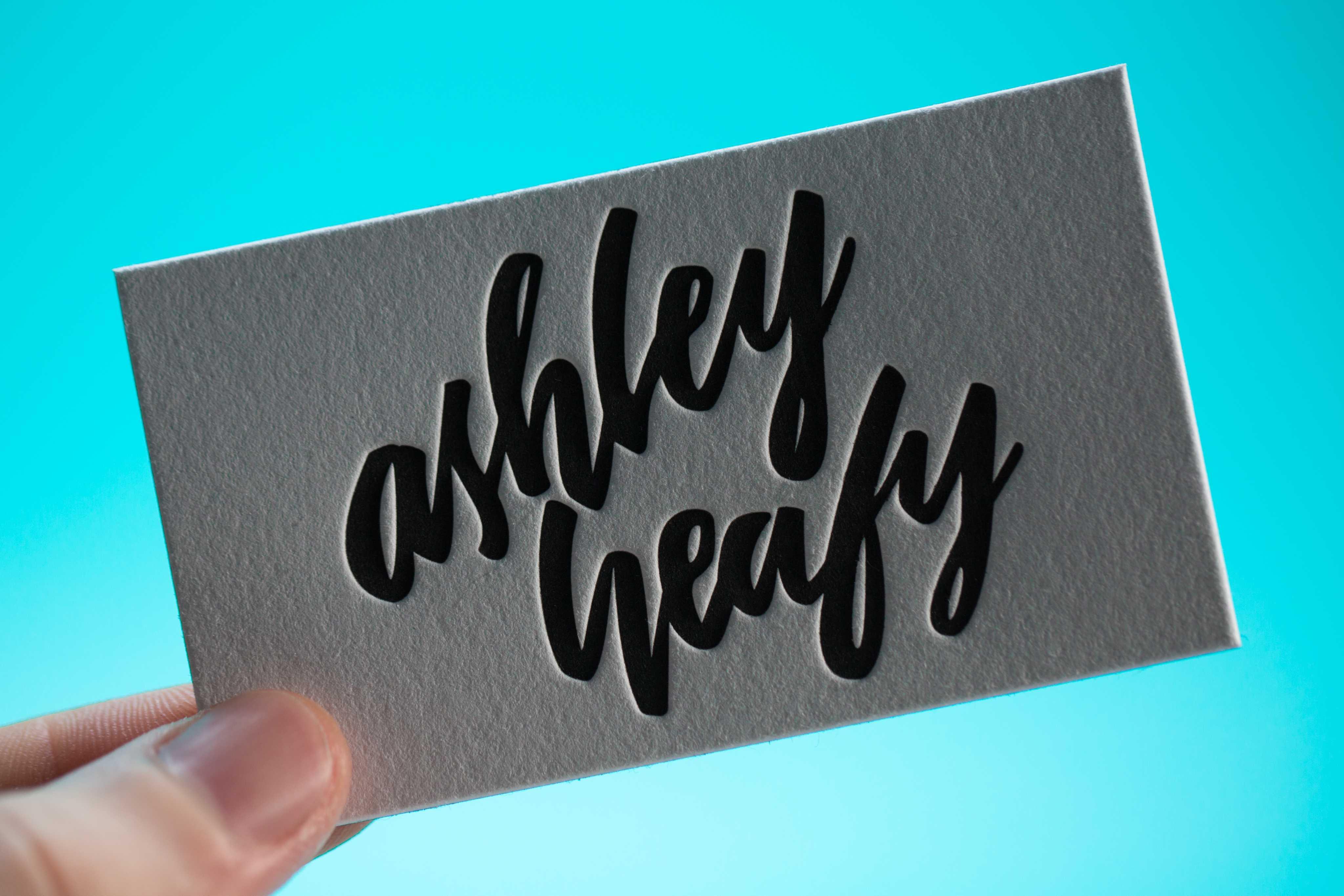 ashley heafy business card • mama s sauce