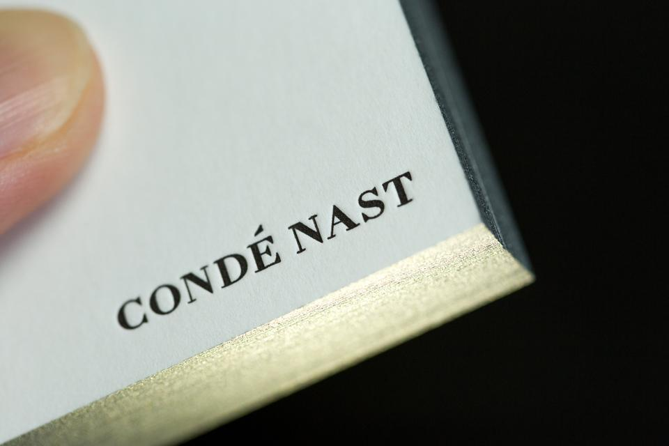 Condé Nast Wired Business Cards