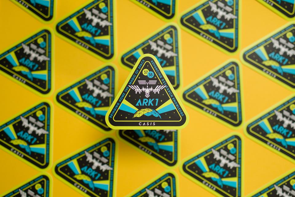 CASIS ARK1 Stickers