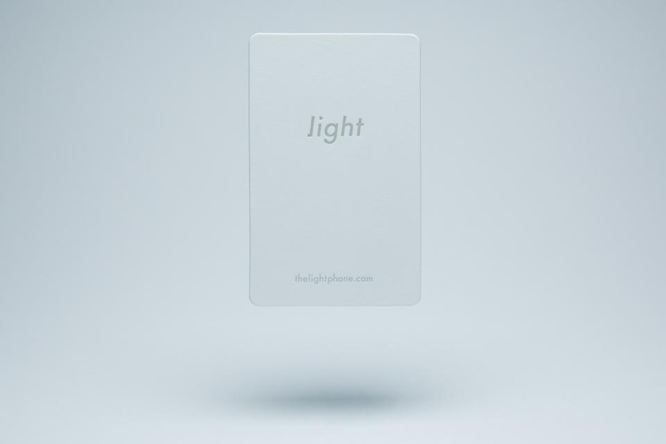 The Light Phone Business Cards