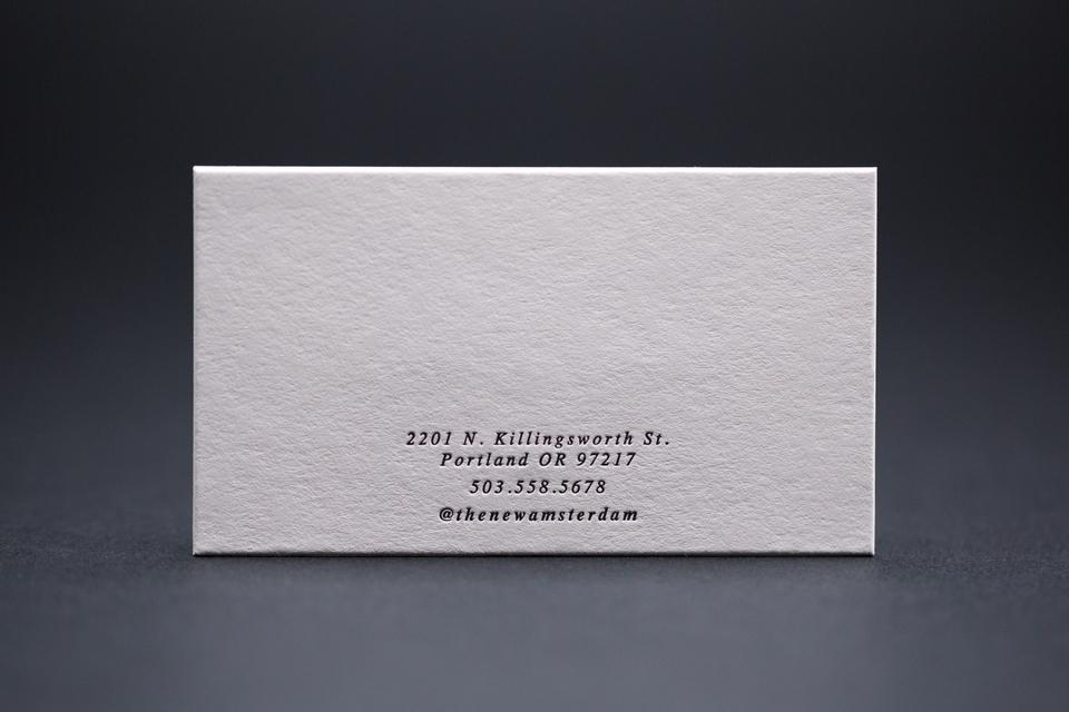 The new amsterdam business cards note cards mamas sauce the new amsterdam business cards note cards reheart Images