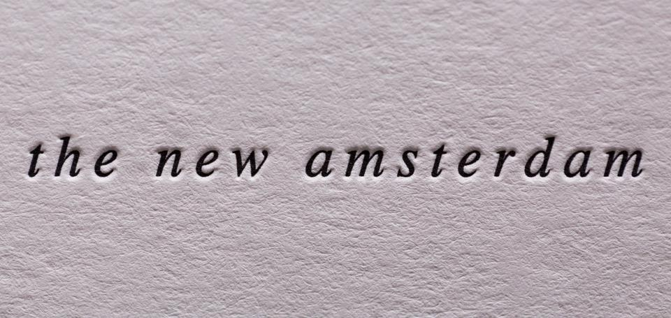 The New Amsterdam Business Cards & Note Cards