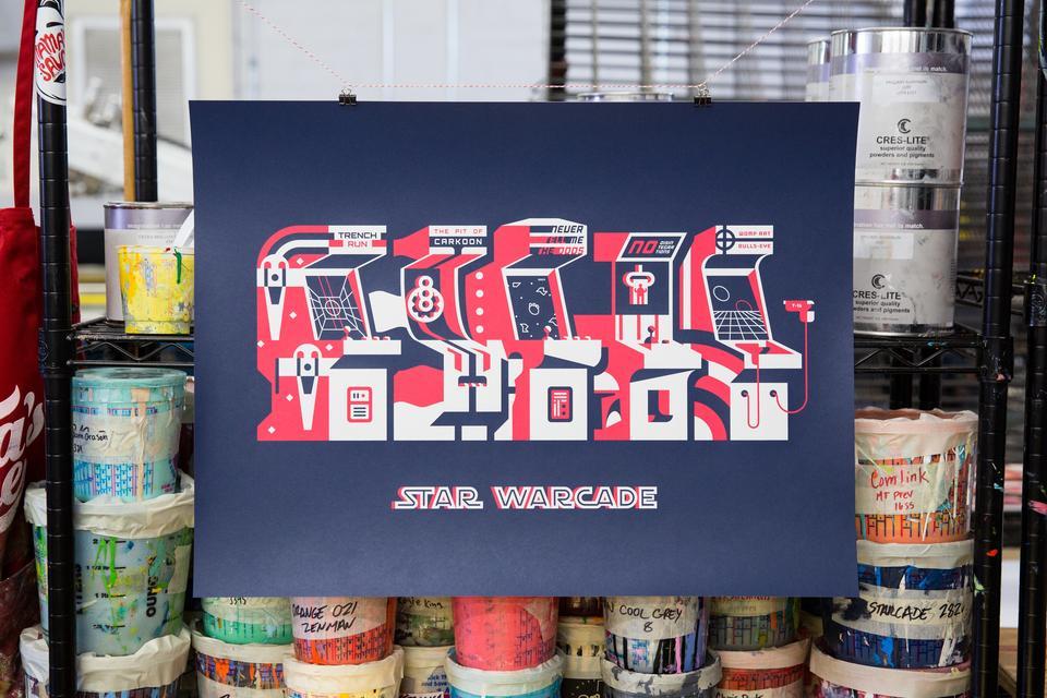 Noah Jacobus Starwarcade Posters