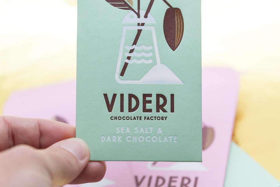 Videri Chocolate Packaging