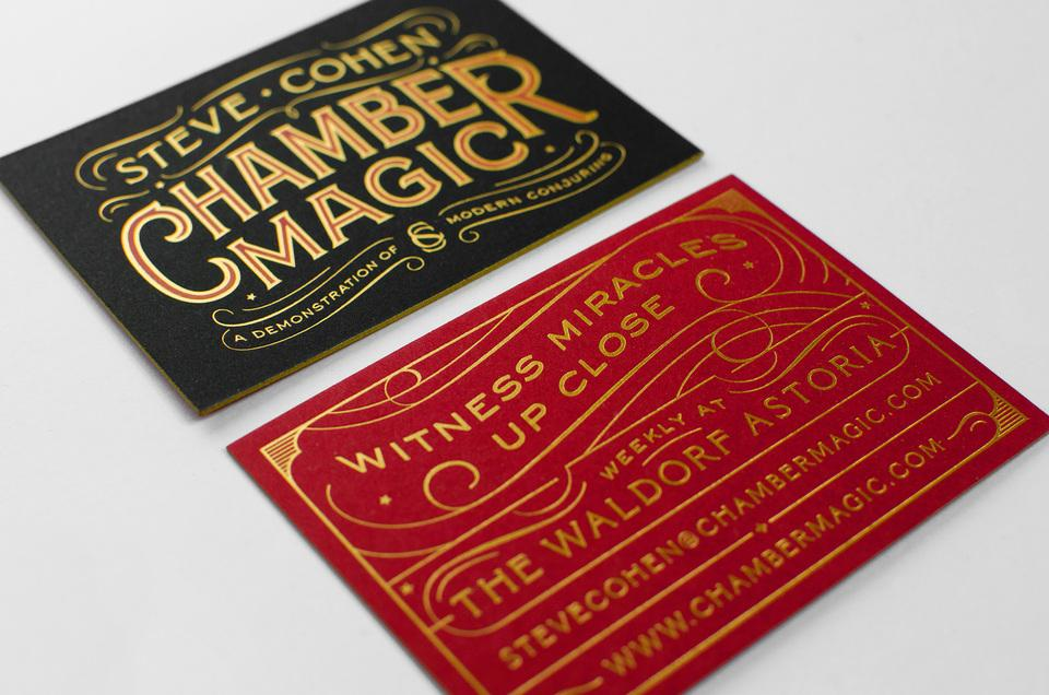 Spencer Charles / Steve Cohen Business Card • Mama\'s Sauce