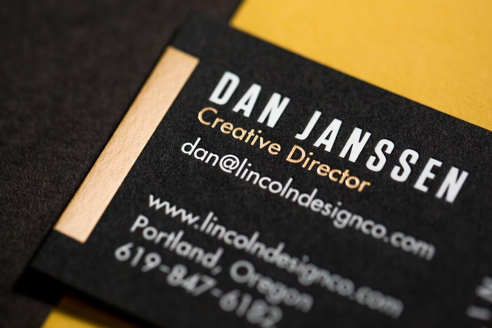Lincoln Design Co. Business Cards