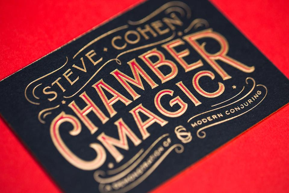 Spencer Charles / Steve Cohen Business Card
