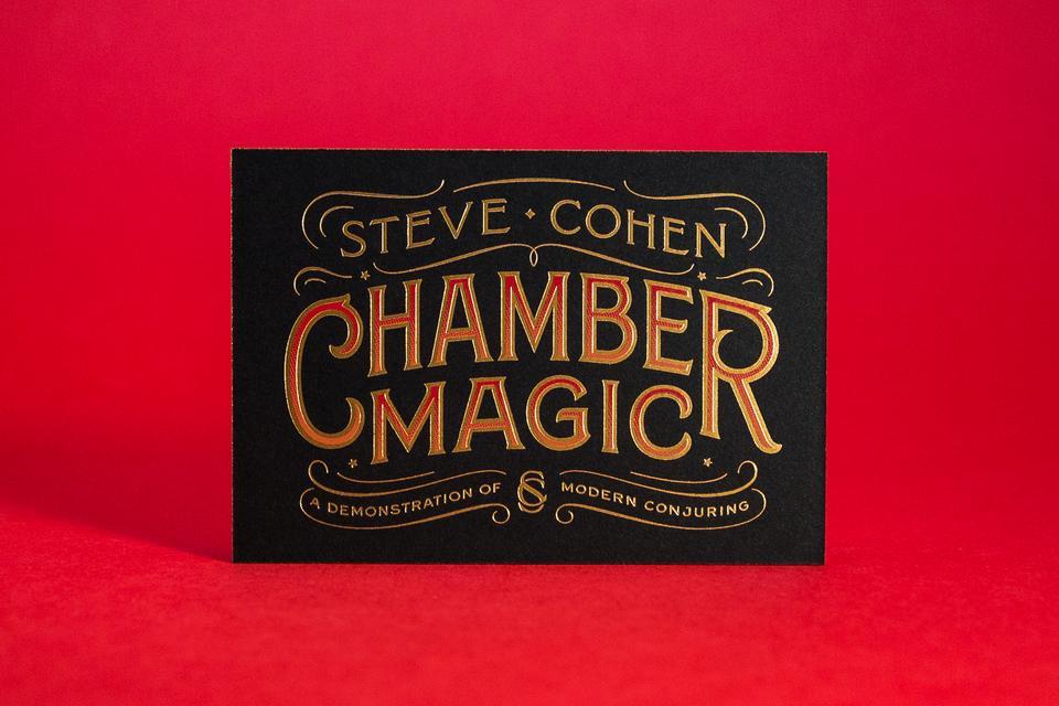 Spencer Charles / Steve Cohen Business Card