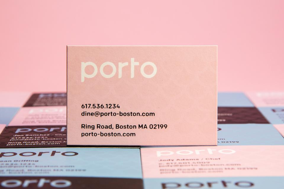 Aaron Belyea Porto Business Cards