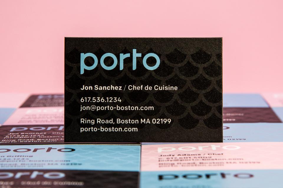 Aaron Belyea Porto Business Cards
