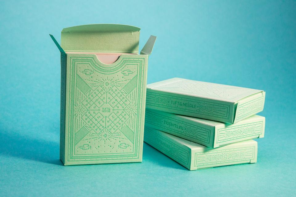 Tuft & Needle Playing Card Box