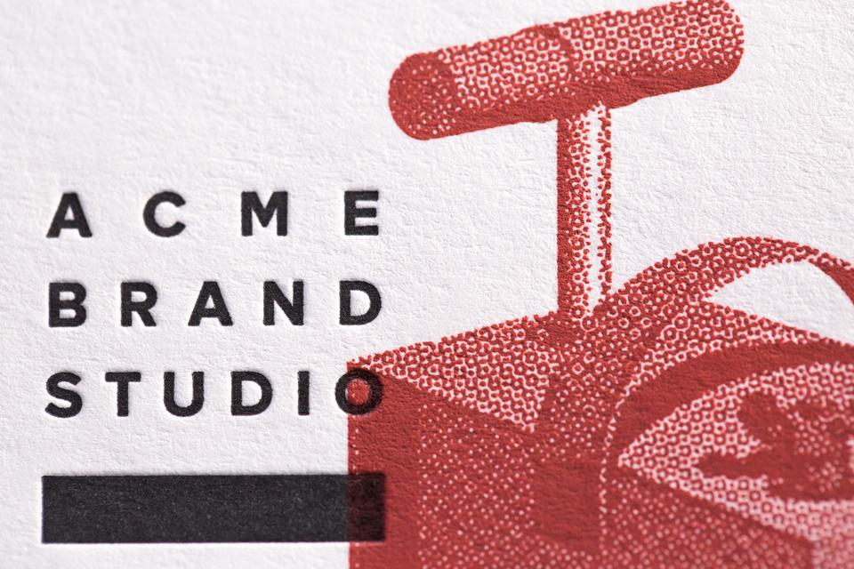 Acme Brand Studio Business Cards