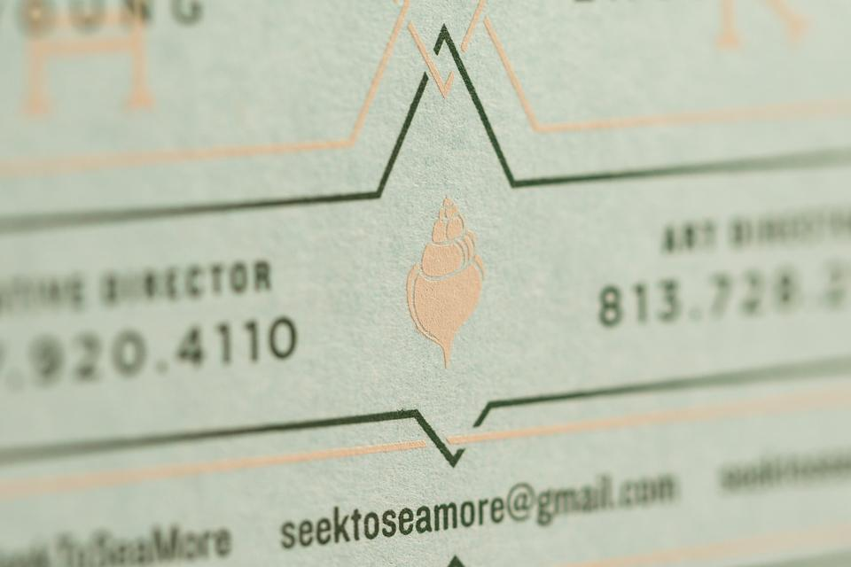 Seamore Business Cards