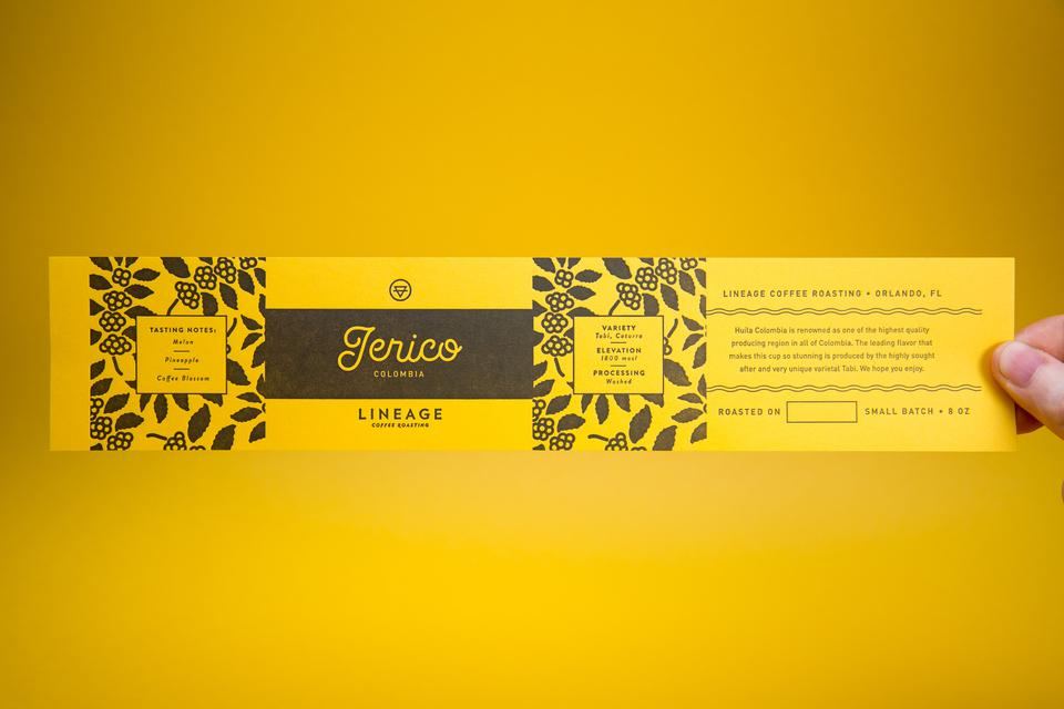 Lineage Jerico Labels