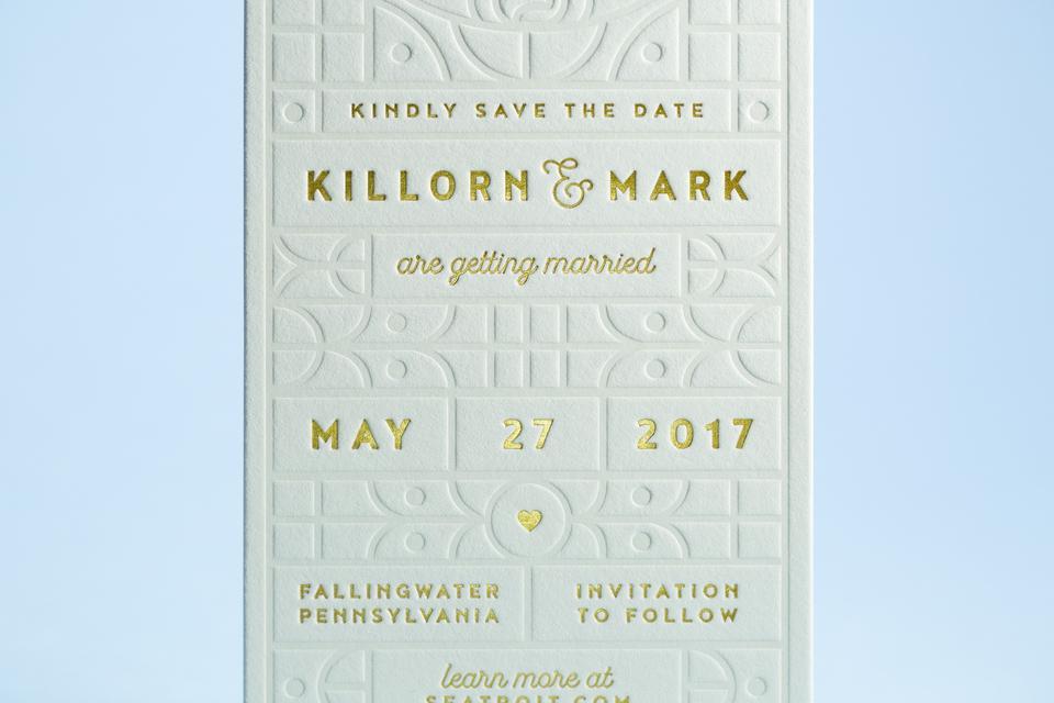 Killorn & Mark Save the Dates
