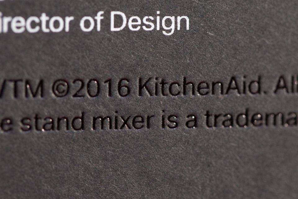 KitchenAid Limited Edition Cards