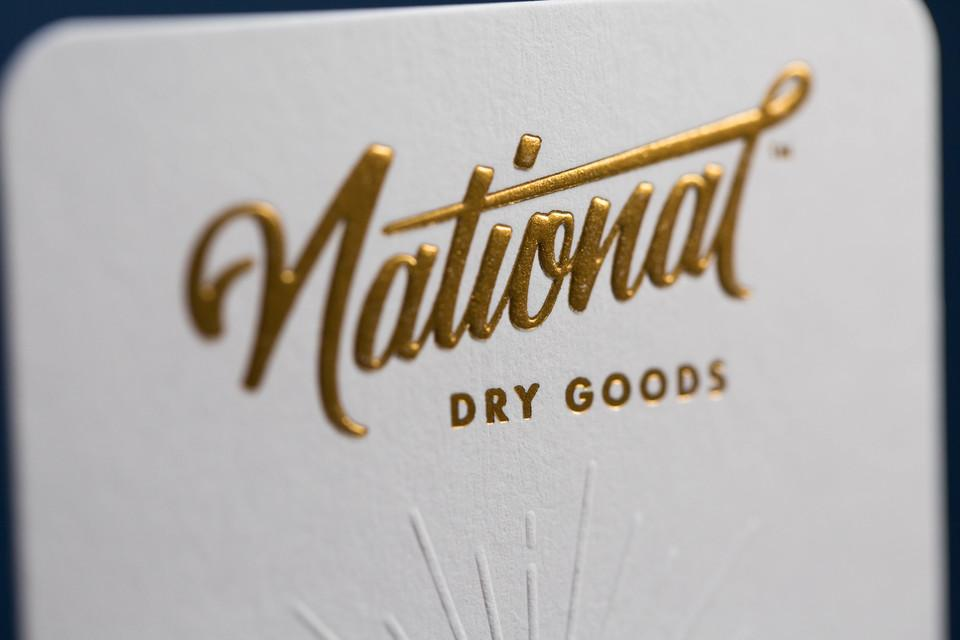 National Dry Goods Pin Backers