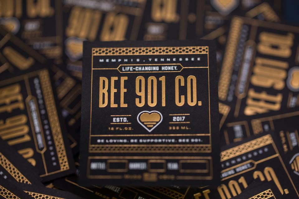 Bee 901 Co.'s Honey Labels
