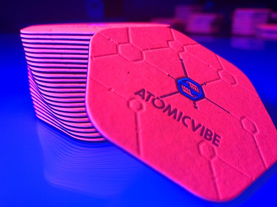 Atomic Vibe Business Cards