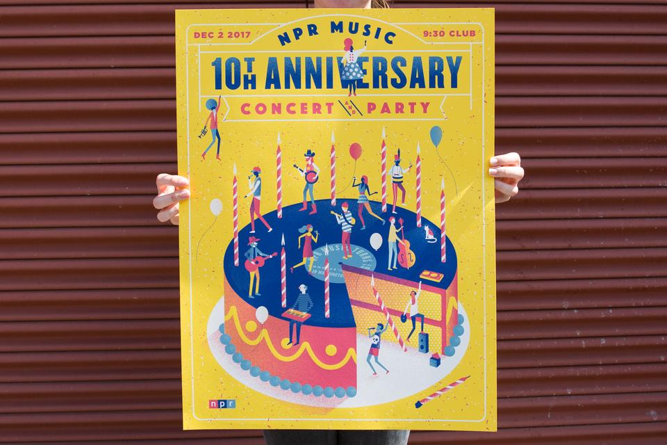 Lure's NPR Music Poster
