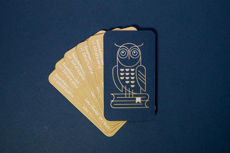 Susan Salvo's Business Cards