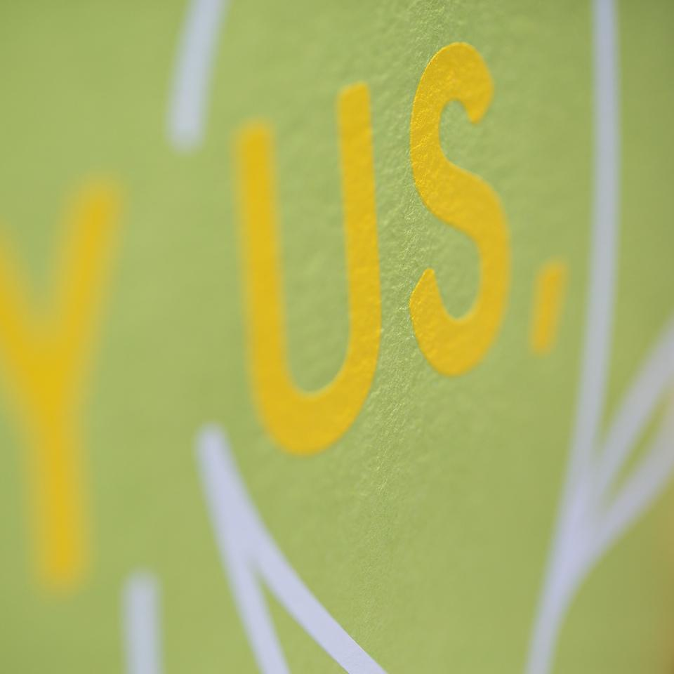 Facebook Analog Lab's Bury Us Poster