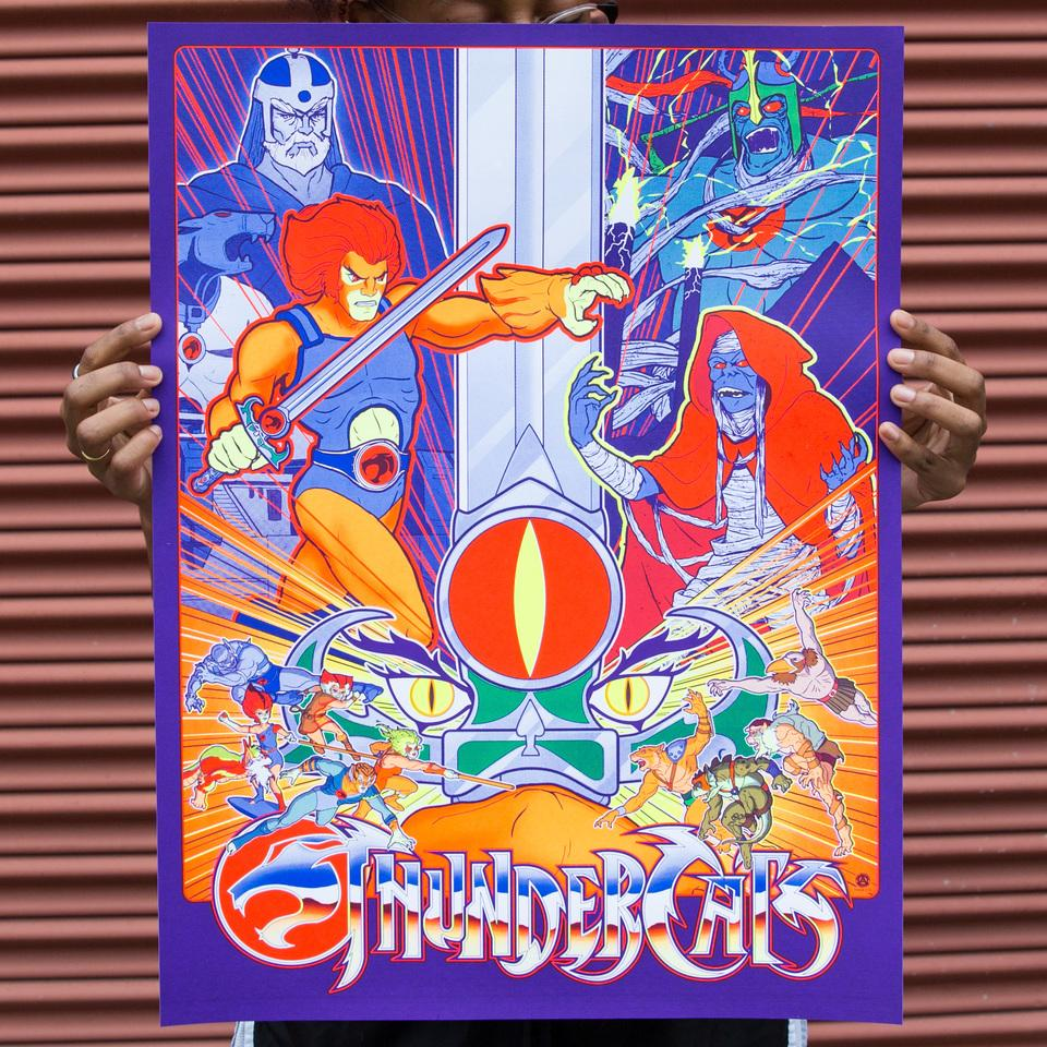 Tim Anderson's Thundercats Poster
