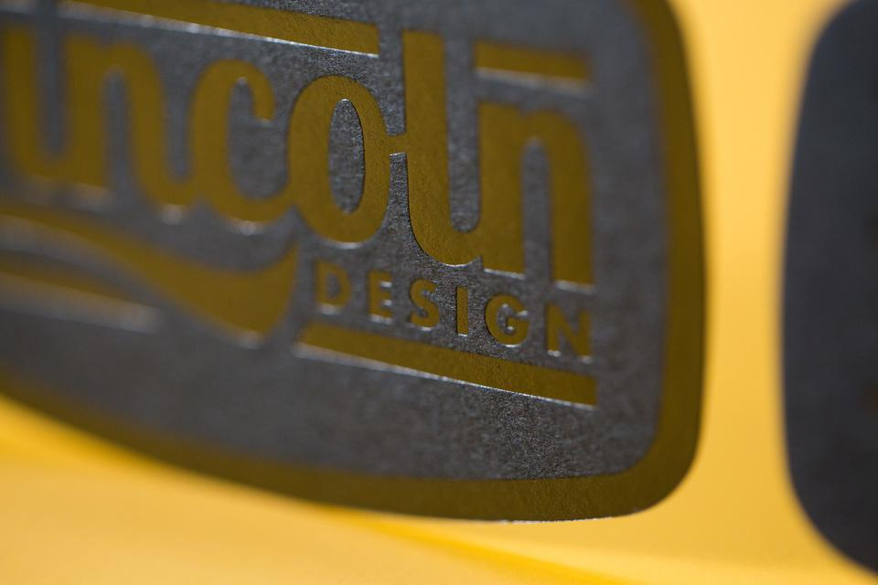 Lincoln Design Co.'s Business Cards