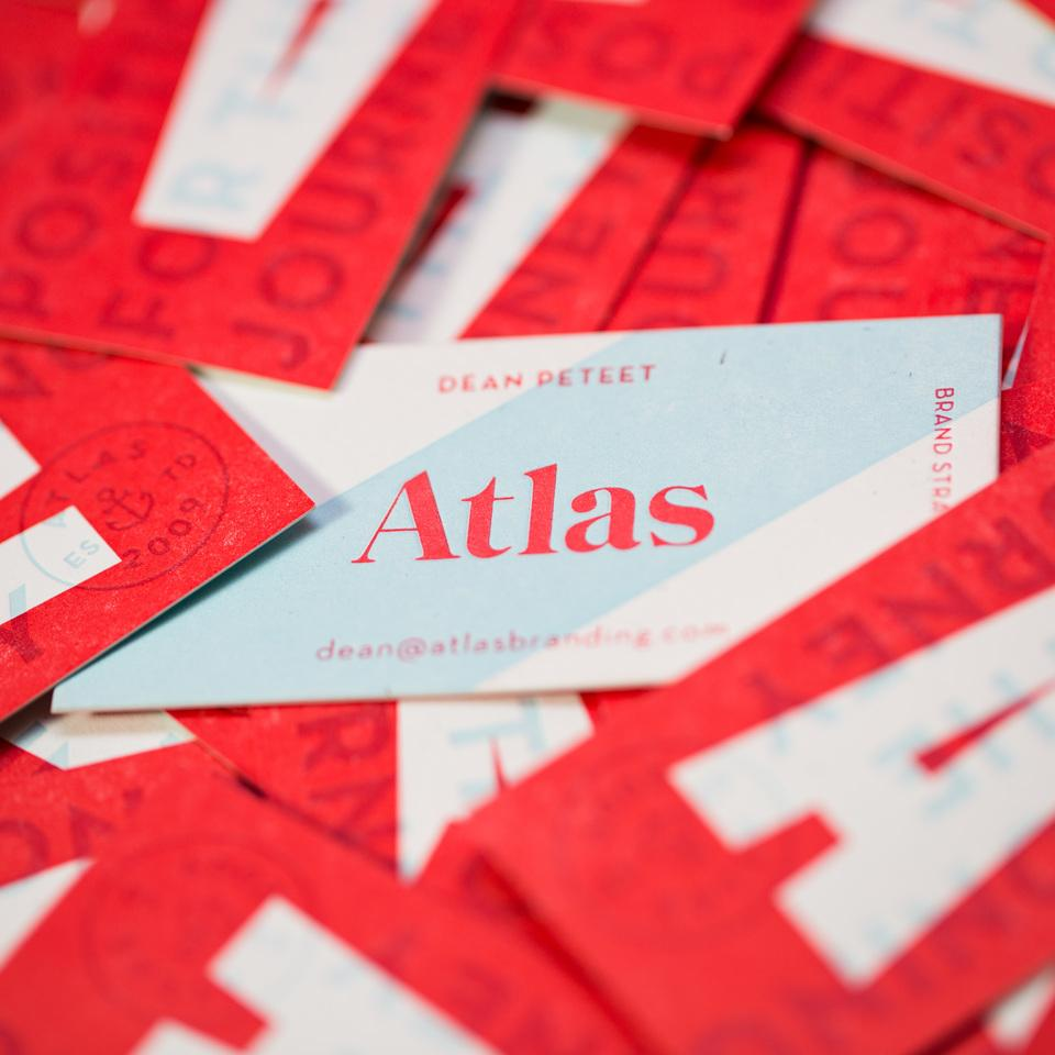 Atlas Branding Business Cards