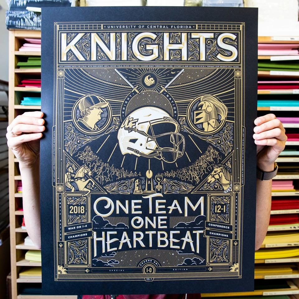 UCF Conference Championship Poster