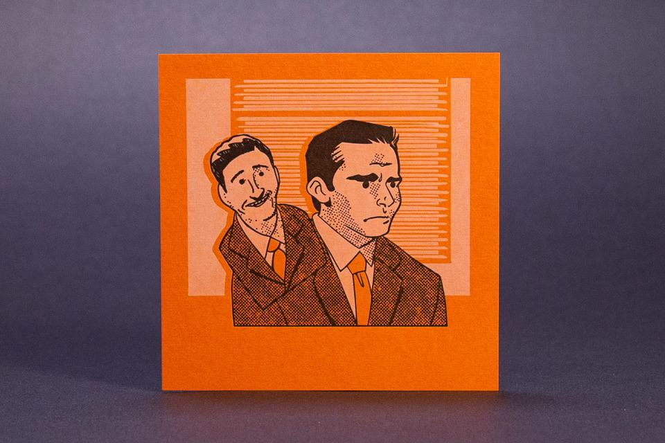 Justin Morales' The Office Mini Prints