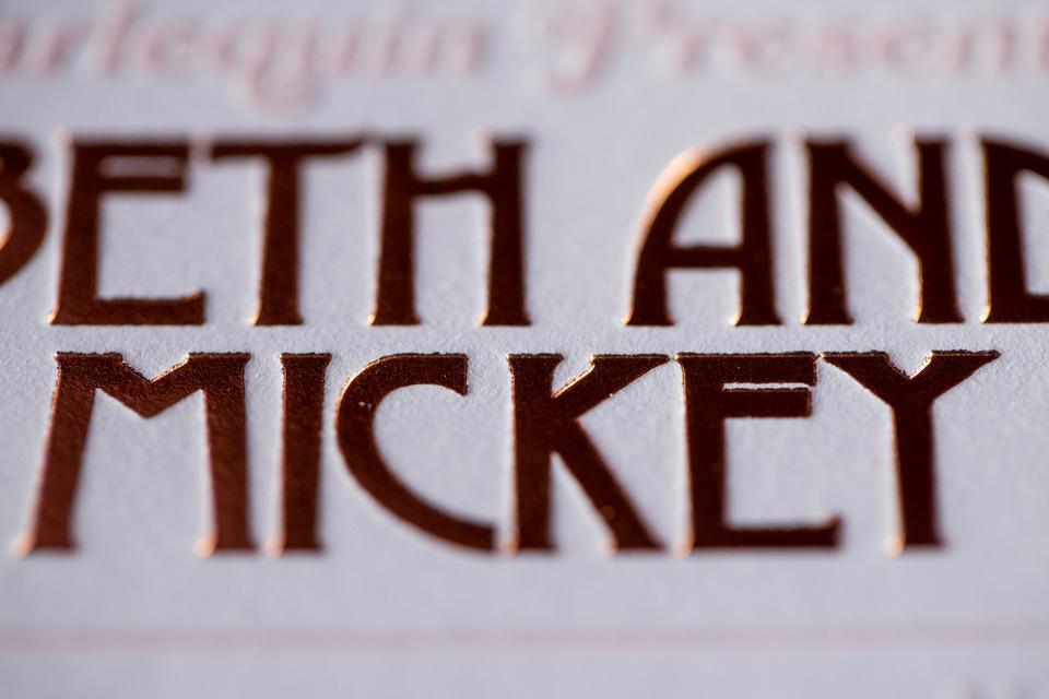 Beth and Mickey's Wedding Invitation Suite