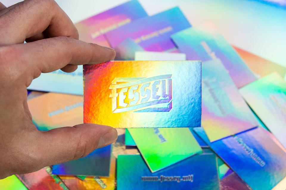 Fessey's Foil Everything Business Cards